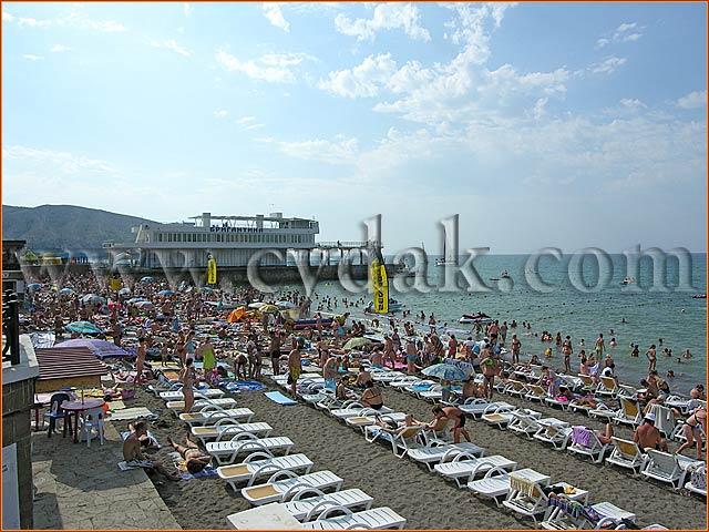 фото пляжи судак